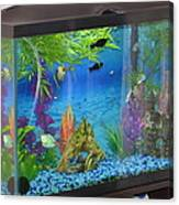 Fish Tank Canvas Print