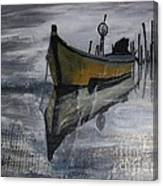 Fishboat Canvas Print