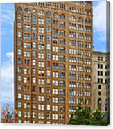 Fisher Building - A Neo-gothic Chicago Landmark Canvas Print