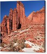 Fisher Towers Amphitheater Canvas Print