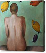 Fisher Woman Canvas Print