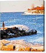 Fishermans Cove Canvas Print