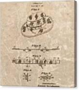 Fisherman's Hat Patent Canvas Print