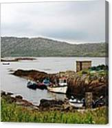 Fishermans Landing Canvas Print