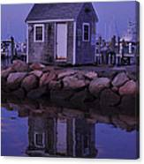 Fisherman's Shack Evening Canvas Print
