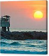 Fisherman's Sunrise Canvas Print