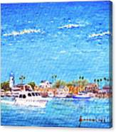 Fisherman's Village Canvas Print