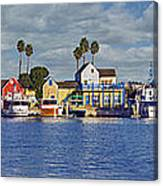 Fisherman's Village Marina Del Rey Ca Canvas Print