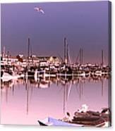 Fisherman's Villiage Canvas Print