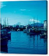 Fisherman's Wharf 1955 Canvas Print