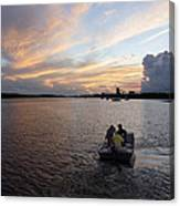 Fishers Of The Night Canvas Print