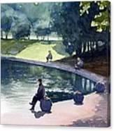 Fishers Canvas Print
