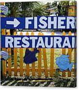 Fishery Canvas Print