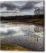 Fishing And Hunting Spot Canvas Print