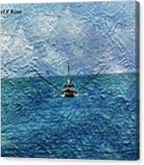 Fishing Boat As A Painting 2 Canvas Print