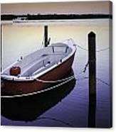 Fishing Boat At Dawn Canvas Print