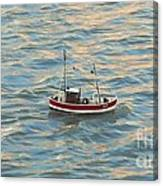 Fishing Boat Jean Canvas Print