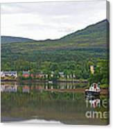 Fishing Boat On Kenmare River West Kerry Canvas Print