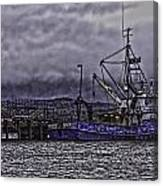 Fishing Boat09 Canvas Print
