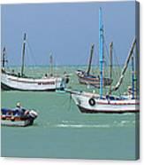 Fishing Boats - Cabo Blanco - Peru Canvas Print