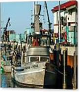 Fishing Boats In Nome Canvas Print