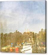 Fishing Boats Newport Oregon Canvas Print