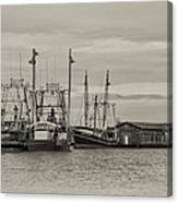 Fishing Boats - Wildwood New Jersey Canvas Print