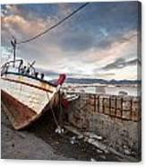 fishing boats 'XVI Canvas Print
