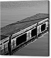 Fishing Dock Canvas Print