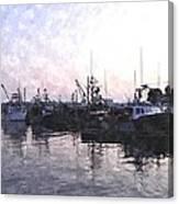 Fishing Fleet Ffwc Canvas Print