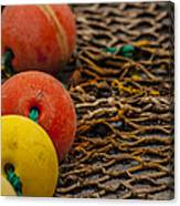 Fishing Gear Abstract Canvas Print