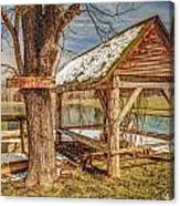 Fishing Hole Canvas Print