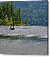 Fishing Lake Merwin Canvas Print