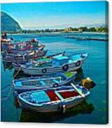 Fishing Livelihood  Canvas Print