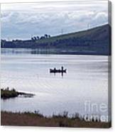 Fishing On Loch Leven Canvas Print