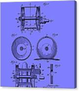Fishing Reel Patent 1930 Canvas Print