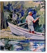 Fishing Spruce Creek Canvas Print