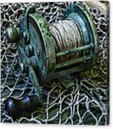 Fishing - That Old Fishing Reel Canvas Print