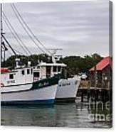 Fishing Trawlers Canvas Print