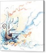 Fiship Canvas Print