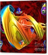 Fishy Fractelus  Canvas Print