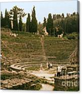Fisole Theatre Ruins Canvas Print