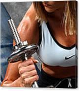 Fitness 26-2 Canvas Print
