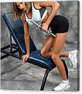 Fitness 30 Canvas Print