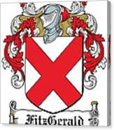 Fitzgerald Coat Of Arms Irish Canvas Print