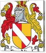 Fitznicol Coat Of Arms Irish Canvas Print