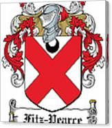 Fitzpearce Coat Of Arms Irish Canvas Print