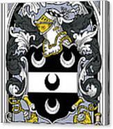 Fitzsimmons Coat Of Arms Irish Canvas Print