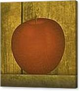 Five Apples  Canvas Print