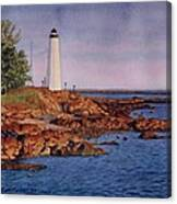 Five Mile Point Lighthouse Canvas Print